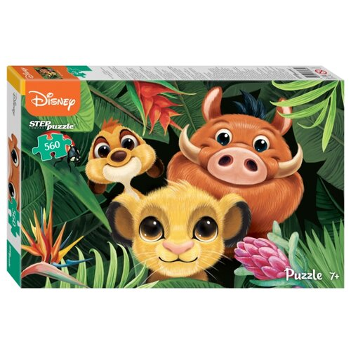 Купить Пазл Step puzzle Disney Король Лев (97085), 560 дет., Пазлы