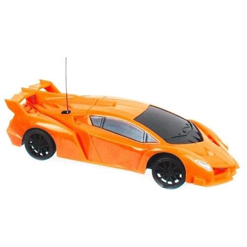 Купить Машинка 1 TOY Спортавто (T13824/T13825/T13826) 1:26 10 см оранжевый, Радиоуправляемые игрушки