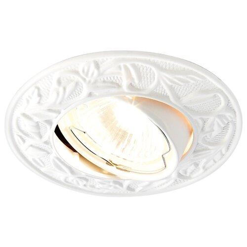 Фото - Встраиваемый светильник Ambrella light 711 WH настенный светильник ambrella light fa565 wh s белый песок 13 вт
