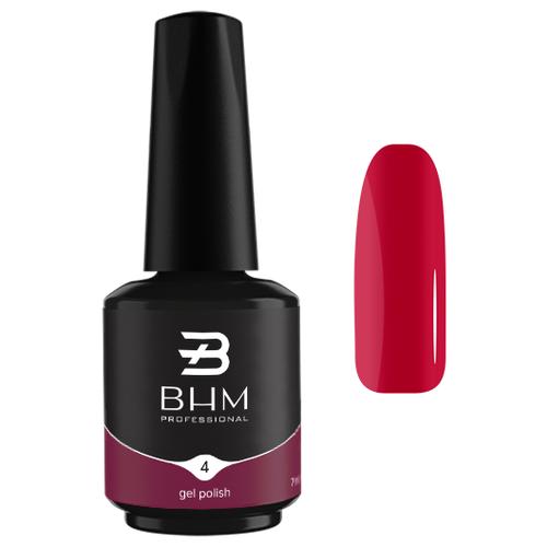 Купить Гель-лак для ногтей BHM Professional Gel Polish, 7 мл, №004 Raspberry sherbet