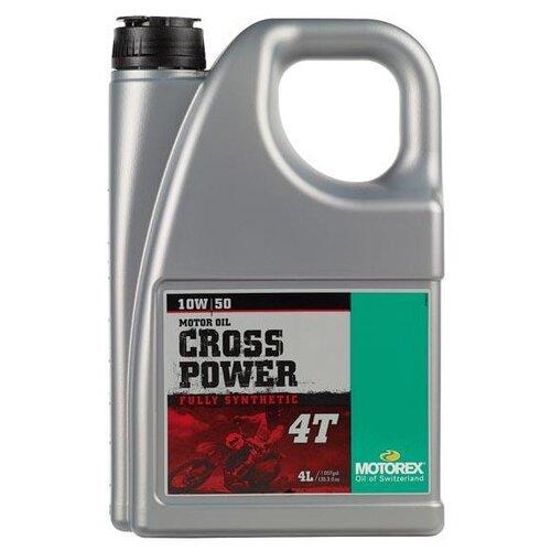 Фото - Синтетическое моторное масло Motorex Cross Power 4T 10W-50 4 л синтетическое моторное масло motorex power synt 4t 5w 40 4 л
