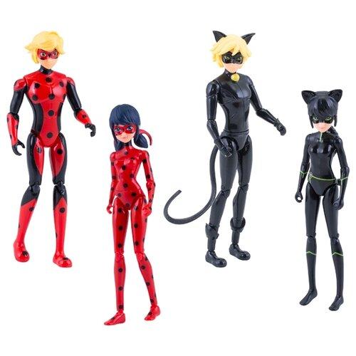 Фото - Игровой набор Bandai Леди Баг и Супер-Кот 39945 набор кукол bandai леди баг и супер кот