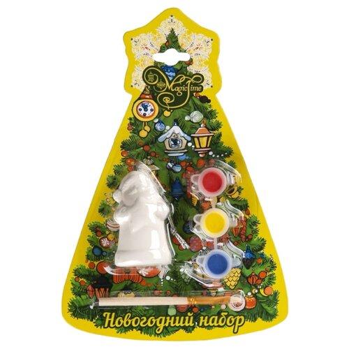 Купить Феникс Present Новогодний набор для творчества Дед Мороз со звездой (75931), Роспись предметов