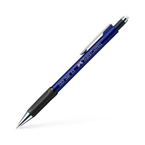 Faber-Castell Механический карандаш Grip 1345 B, 0,5 мм 1 шт. синий карандаш механический faber castell grip matic 1375 корпус голубой ластик 0 5 мм 137551
