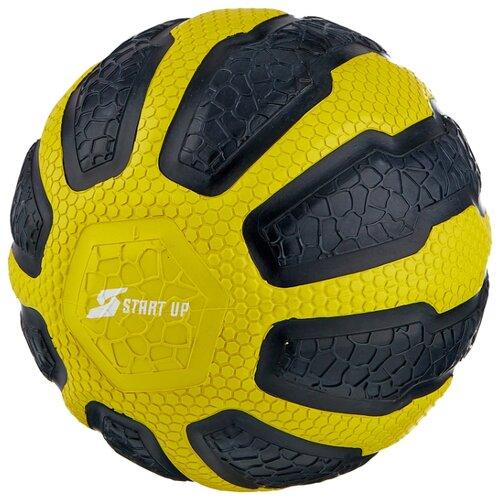 Медбол START UP NT40320, 1 кг черный/желтый медбол start up nt40320 1 кг черный желтый
