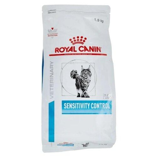 Корм для кошек Royal Canin Sensitivity Control при проблемах с ЖКТ, при аллергии, с уткой 1.5 кг корм сухой royal canin vet sensitivity control sc21 для собак при пищевой аллергии или непереносимости с уткой 1 5 кг