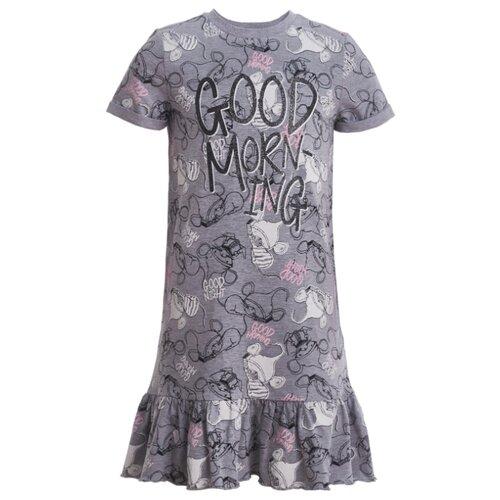 Купить Сорочка Button Blue размер 98-104, серый, Домашняя одежда