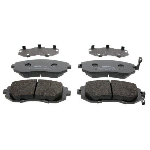 Фото - Дисковые тормозные колодки передние Ferodo FDB1639 для Toyota, Subaru (4 шт.) дисковые тормозные колодки передние ferodo fdb1639 для toyota subaru 4 шт