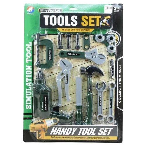 Купить Hao Yuan Набор инструментов 17 предметов HY2298-78, Детские наборы инструментов