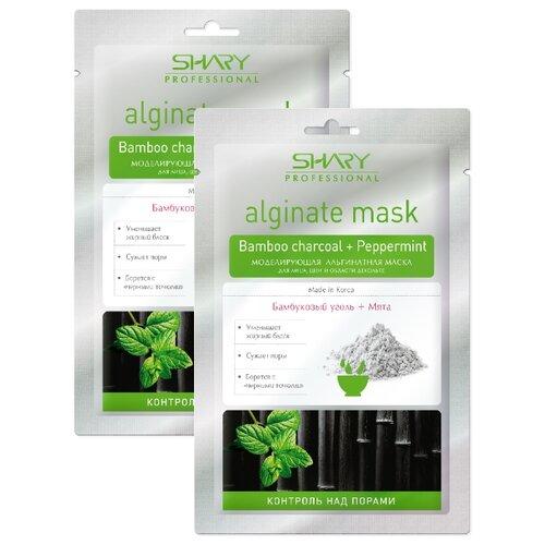 Shary альгинатная маска Контроль над порами, 28 г, 2 шт. профессиональная альгинатная маска коллаген аденозин shary