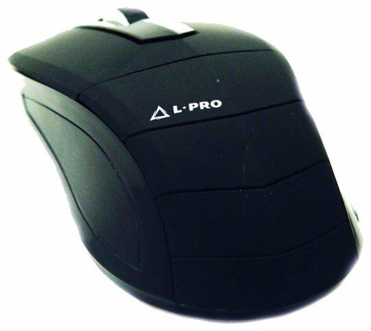 Мышь L-PRO HV-MS075/1239 Black USB