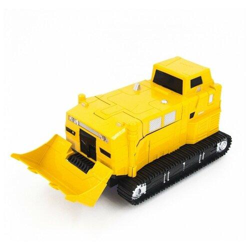 Купить Робот-трансформер MZ Бульдозер 2377PF желтый, Роботы и трансформеры