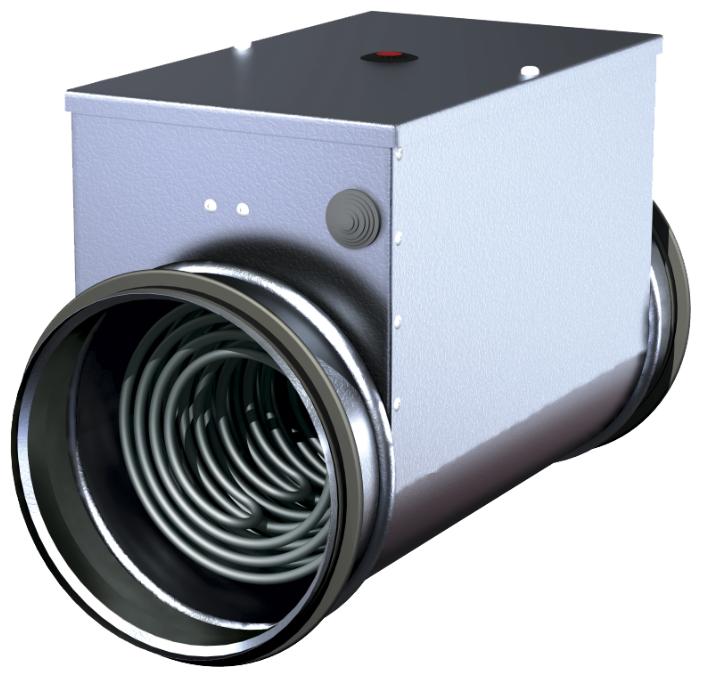 Электрический канальный нагреватель Salda EKA NIS 125-1,8-1f