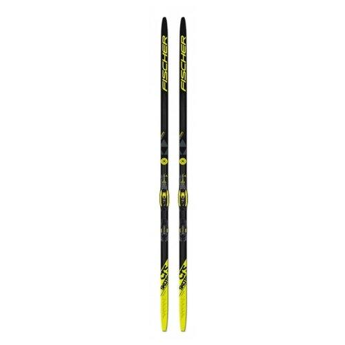 цена на Беговые лыжи Fischer CRS Skate Russialoppet IFP черный/желтый 191 см