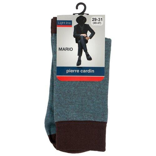 Носки Pierre Cardin Light line. Mario, размер 45-47, коричневый/бирюзовый
