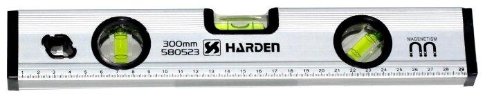 Уровень брусковый 3 глаз. Harden 580523 30 см