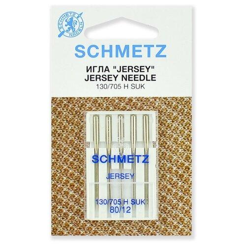 Игла/иглы Schmetz 130/705 Н SUK 80/12 серебристый
