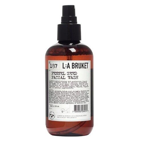 Фото - L:A BRUKET гель для умывания 187 Fennel Seed Facial Wash, 200 мл l a bruket facial toner and refresher no 099 chamomile bergamot