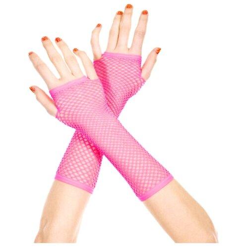Перчатки Alexa сетчатые перчатки, розовый