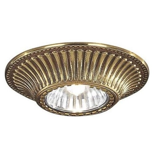 Встраиваемый светильник Reccagni Angelo Spot 1078 oro подсветка для картин reccagni angelo a1000 2 oro