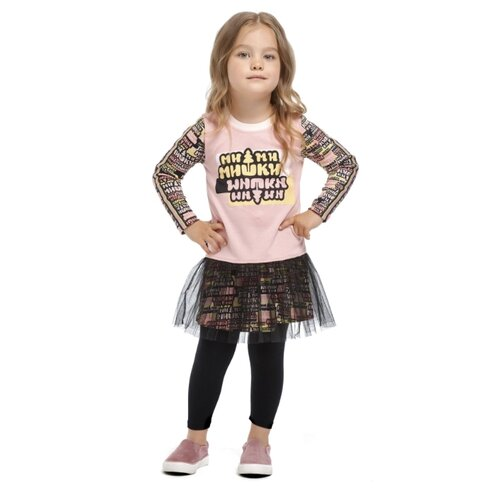 Платье lucky child размер 28 (92-98), розовый худи lucky child размер 28 92 98 фиолетовый