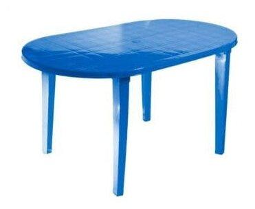 Стол обеденный садовый Стандарт Пластик овальный