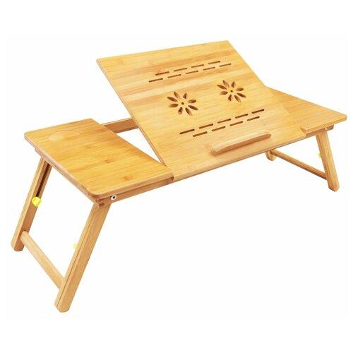 Стол для ноутбука Зеленый Шар BS 0003, светло-коричневый