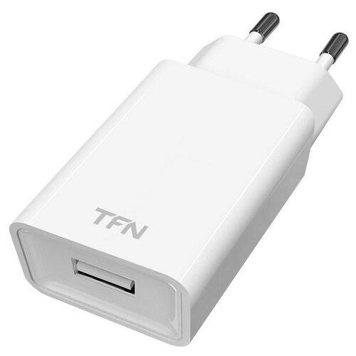 Фото - Сетевое зарядное устройство TFN 1A б/кабеля автомобильное зарядное устройство tfn 1a black б кабеля