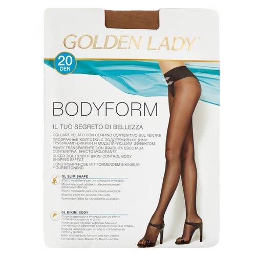 Колготки Golden Lady Bodyform 20 den, размер 4-L, melon (бежевый) колготки golden lady bodyform 20 den размер 4 l nero черный