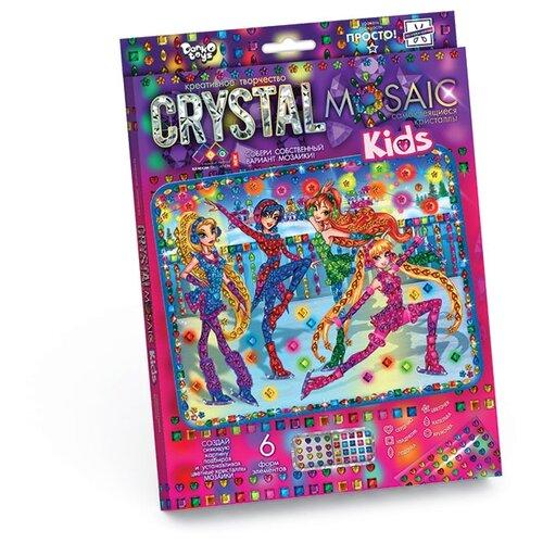 Купить Danko Toys Набор алмазной вышивки Crystal Mosaic Девочки феи (CRMk-01-02), Алмазная вышивка
