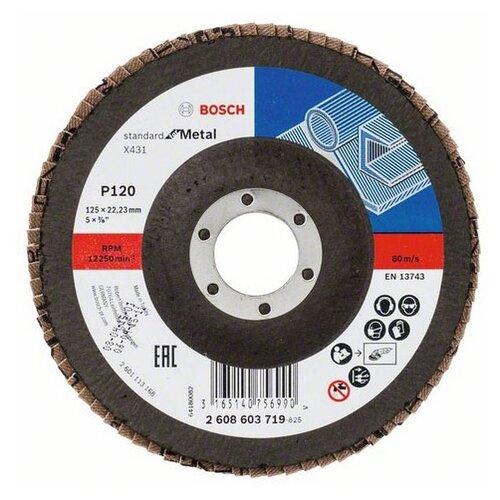 Лепестковый диск BOSCH Standard for Metal 2608603719