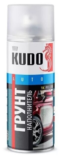 Аэрозольный грунт-наполнитель KUDO KU-220X