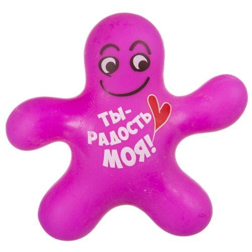 Купить Игрушка-мялка BONDIBON Чудики. Ты радость моя! (ВВ3581) розовый, Игрушки-антистресс