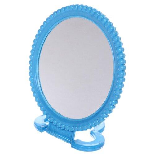 Зеркало косметическое настольное Florento Бусинки (420-264) синий