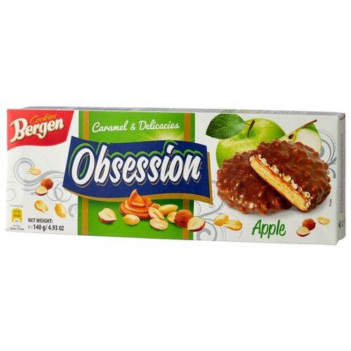 цена на Печенье Bergen Caramel & Delicacies Obsession Apple 140 г