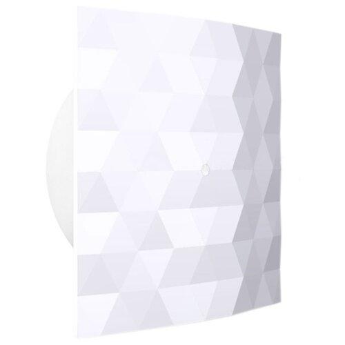 Вытяжной вентилятор Dospel Black&White 120 S, white 17 Вт вытяжной вентилятор supra vs 1614r white blue