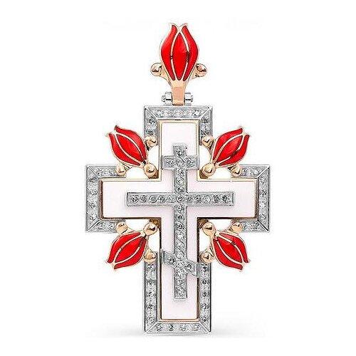 KABAROVSKY Подвеска с 68 бриллиантами из красного золота 3-0279-1001 булавки charmelle булавка pn 0279 pn 0279