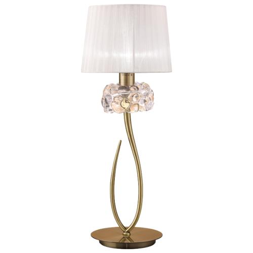 Настольная лампа Mantra Loewe 4736, 23 Вт бра mantra loewe 4635