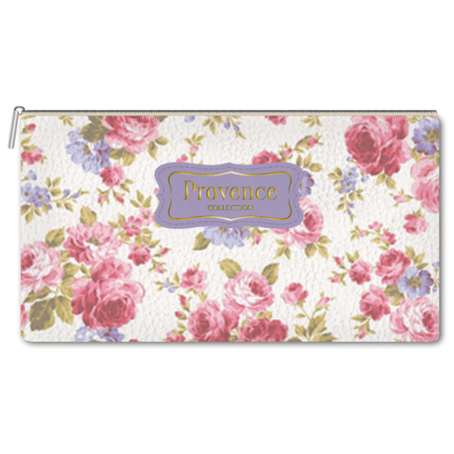 Купить InFolio Пенал-косметичка Provence белый/розовый, Пеналы