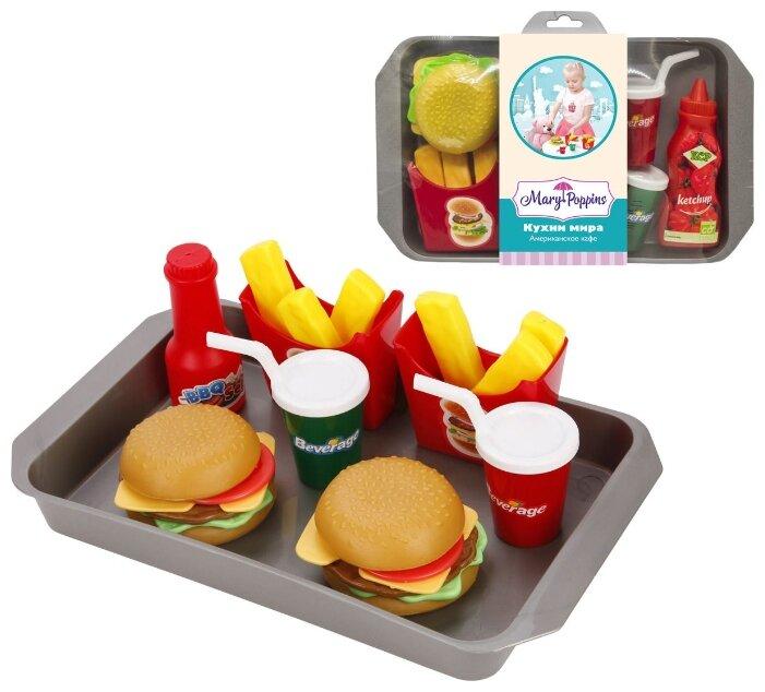 Набор продуктов с посудой Mary Poppins Американское