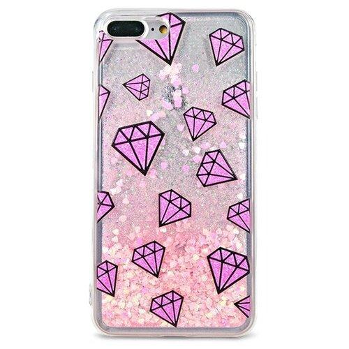 Чехол Pastila Life Style для Apple iPhone 7 Plus/iPhone 8 Plus Diamonds skinbox silicone chrome border color style 1 4people чехол для apple iphone 7 8 green