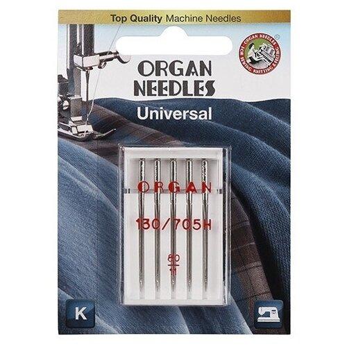 Игла/иглы Organ Universal 80 серебристый игла иглы organ super stretch 75 серебристый