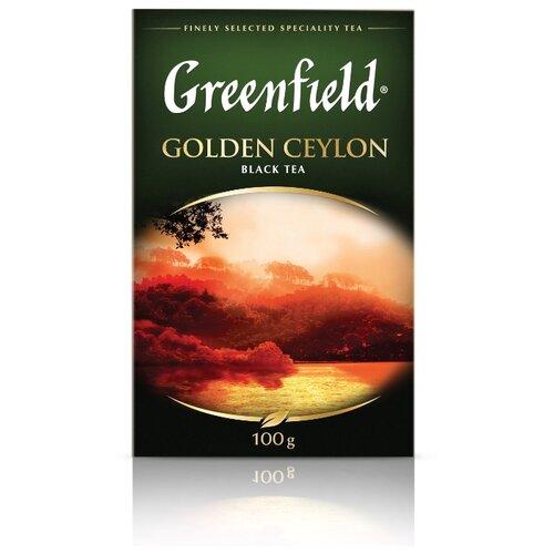 Чай черный Greenfield Golden Ceylon, 100 г greenfield english edition черный листовой чай 100 г
