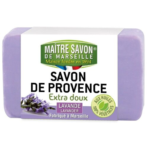 Мыло кусковое Maitre Savon de Marseille Лаванда, 200 г savon de cleopatra бальзам