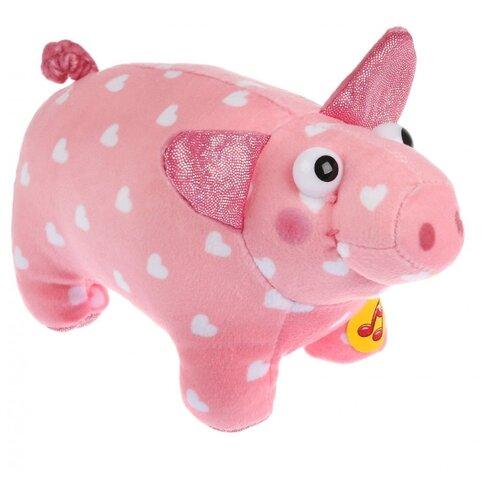 Мягкая игрушка Мульти-Пульти Деревяшки Поросёнок Хрю 15 см, муз. чип, Мягкие игрушки  - купить со скидкой
