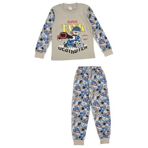Пижама MisterBanana размер 92-98, серый