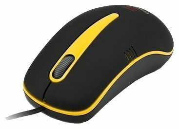 Мышь Gresso GM-5039U Black-Yellow USB