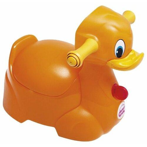 цена на Baby Ok горшок Quack оранжевый