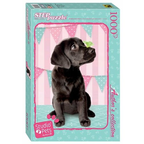 Пазл Step puzzle Studio Pets by Myrna (79540), 1000 дет. степ пазл мозаика puzzle 1000 щенок limited edition studio pets by myrna