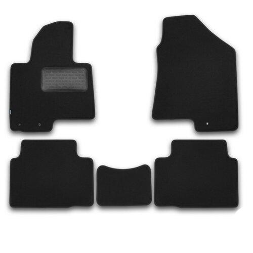 Комплект ковриков KLEVER KVR03203622110kh для Hyundai ix35 5 шт. черный